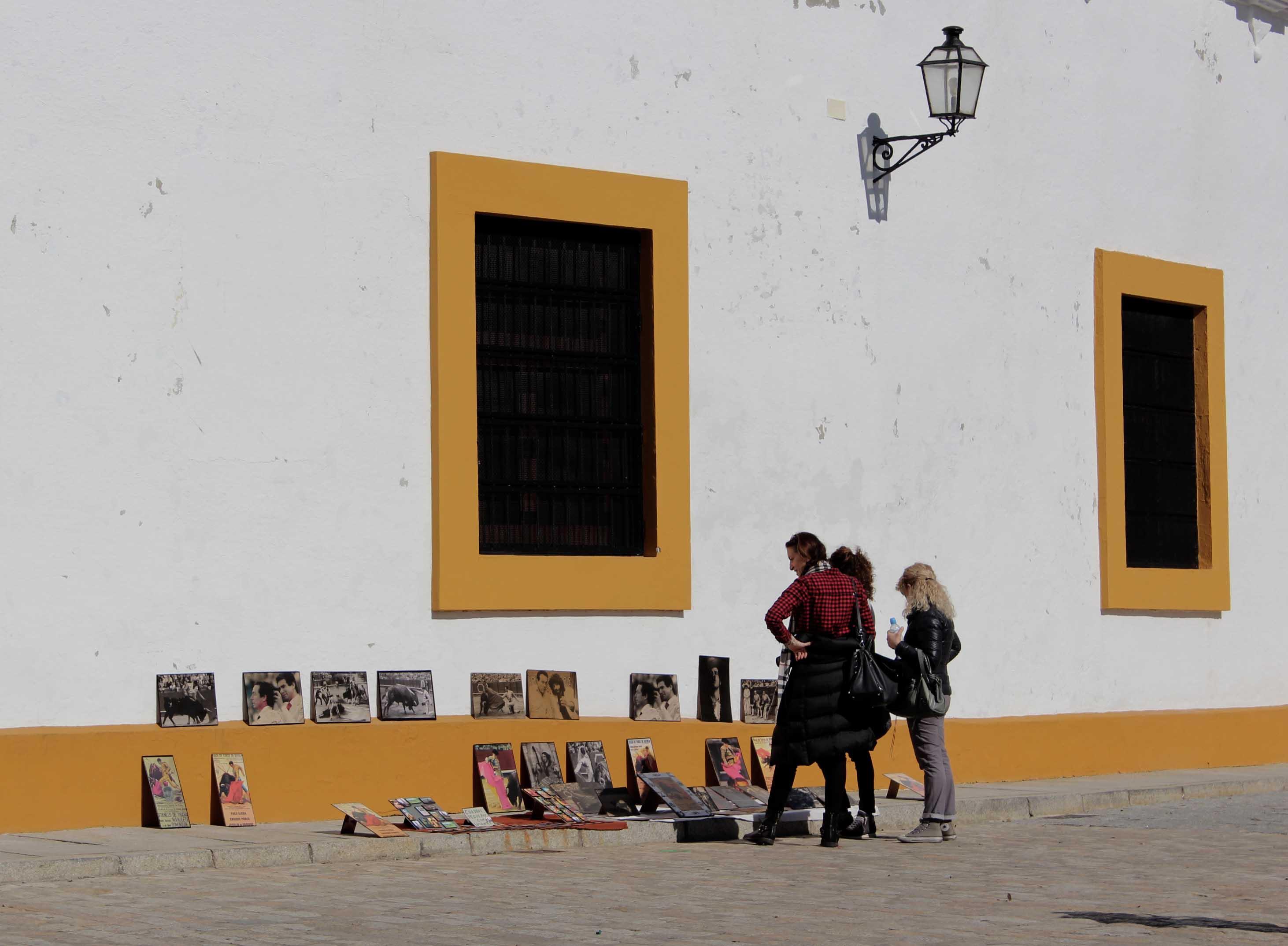 Los colores de Sevilla.