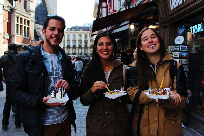 Bruselas: en círculos y verticales