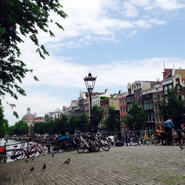 On the road | Ámsterdam