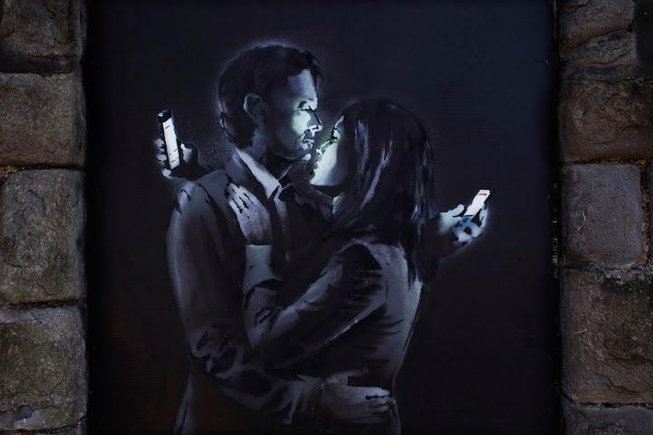 Banksy pintó esta triste realidad.