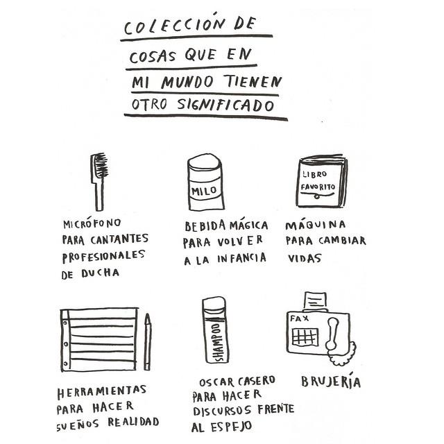 Colección de cosas con otro significado (Amalia Andrade)