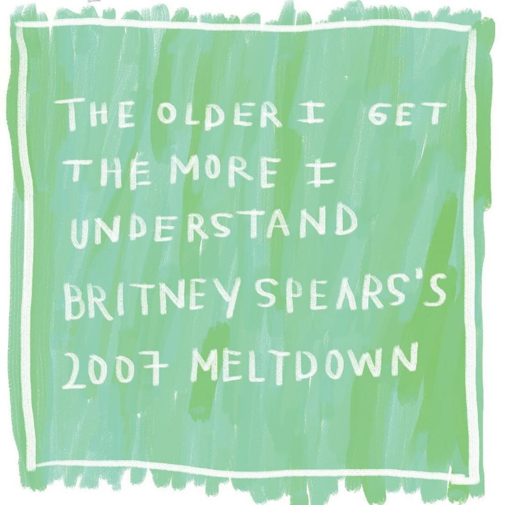 Britney Spears' 2007 meltdown, Amalia Andrade