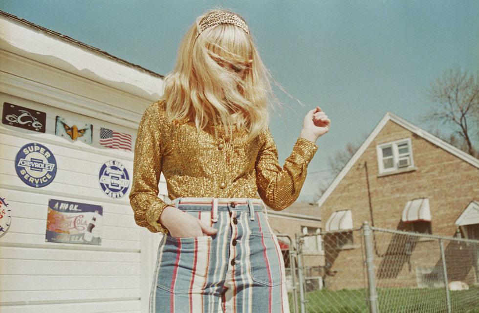 Tavi Gevinson fotografeada por Petra Collins