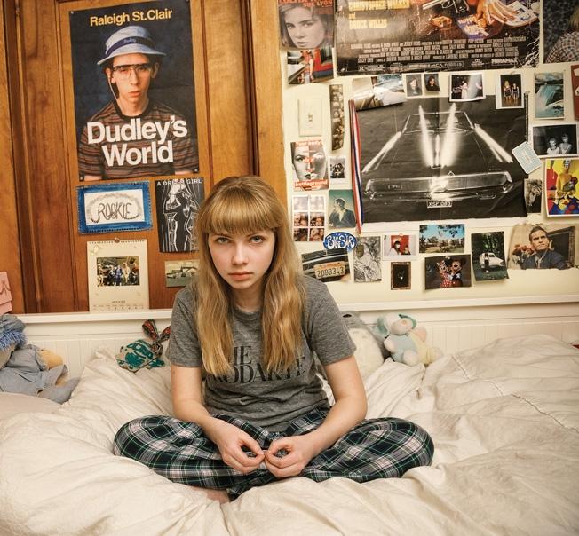 Tavi Gevinson en su habitación