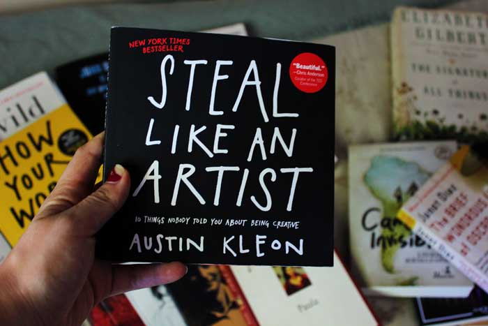 Austin Kleon, Steal Like an Artist