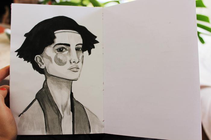 Un retrato, por ejemplo.
