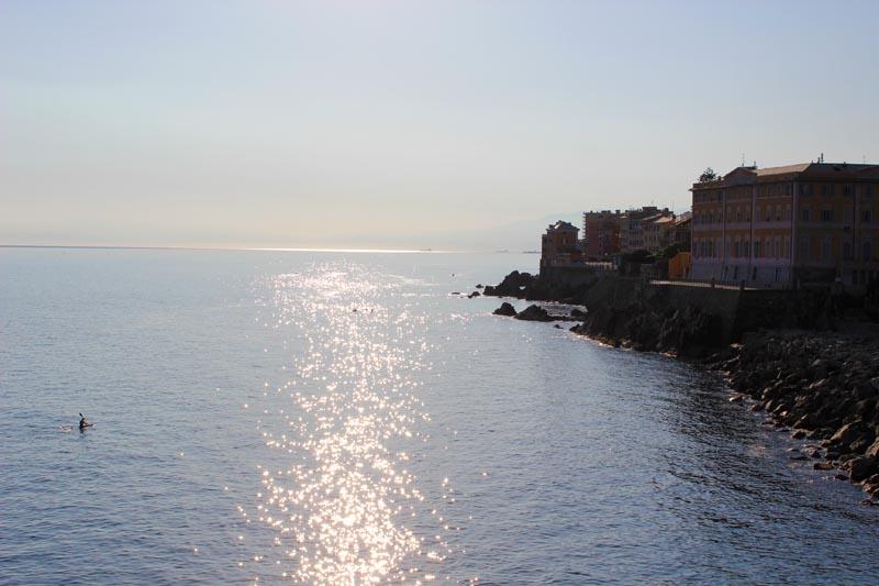 La costa de Génova