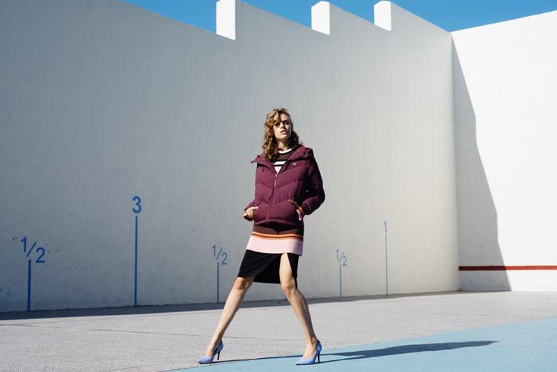 Para Oh La La Moda, foto de Clara Cohen, estilismo por Pia Rey, maquillaje y peinado por Monique Pouysségur con Julieta Hooft como modelo.