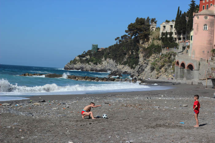 Vamos a la playa en Italia