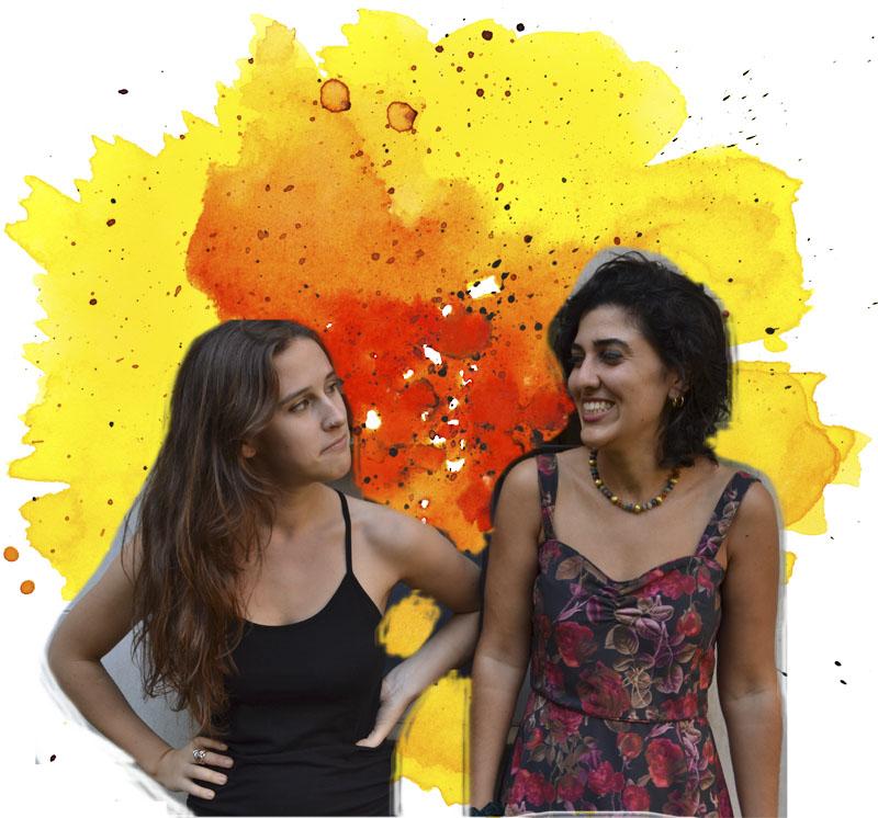 Cloé Karagozlu y Sharon Borgstrom, escritoras en Postales a Casa