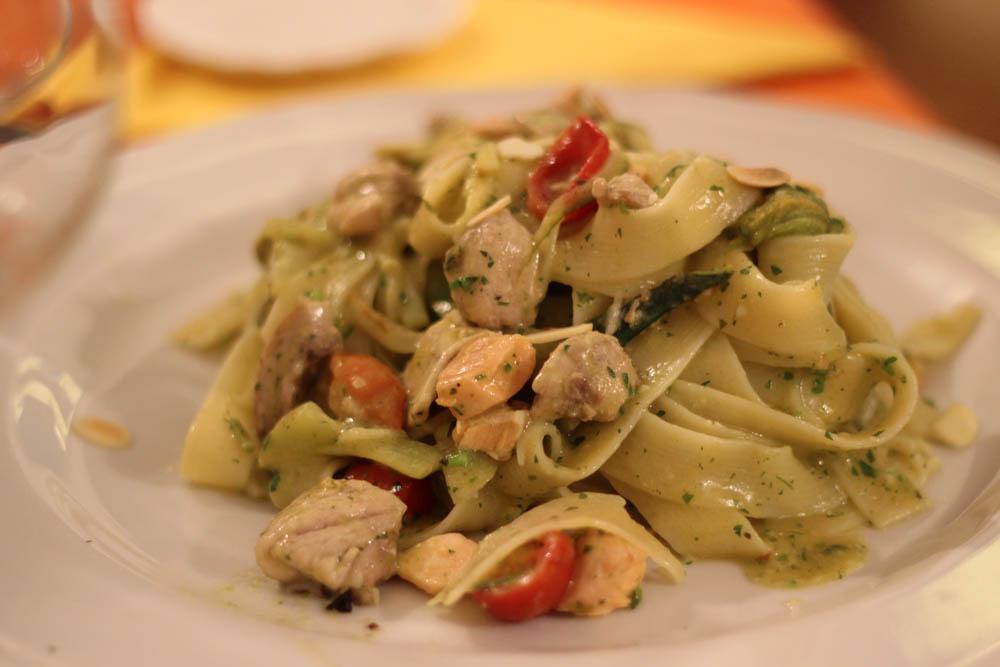 Comer en Italia, la comida es importante.