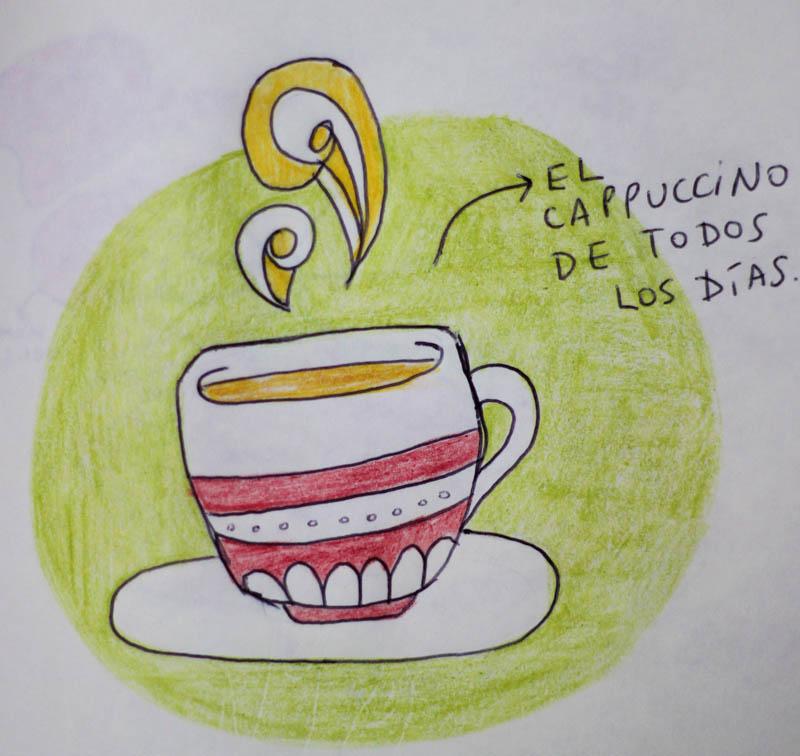 El cappuccino de todos los días