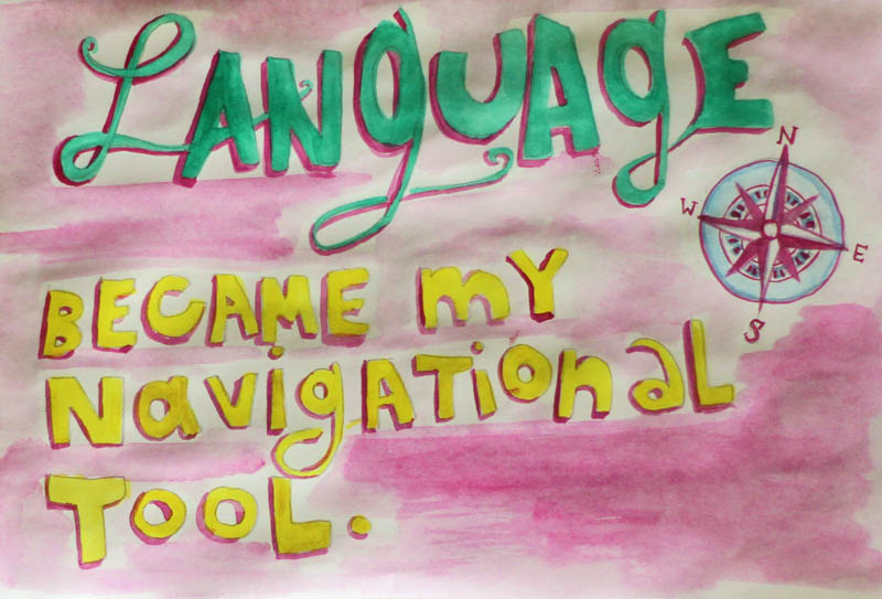 Dani Shapiro, Language became my navigational tool, still writing