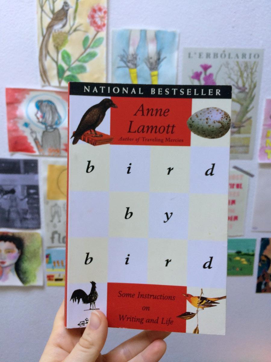 """Libros que inspiran a escribir: """"Bird by Bird"""" de Anne Lamott"""